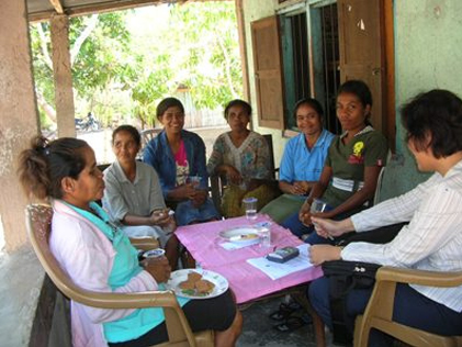 Endline Survey Gallery | Focus group discussion (FGD) with mother of under five children